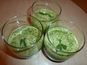 зелёные коктейли